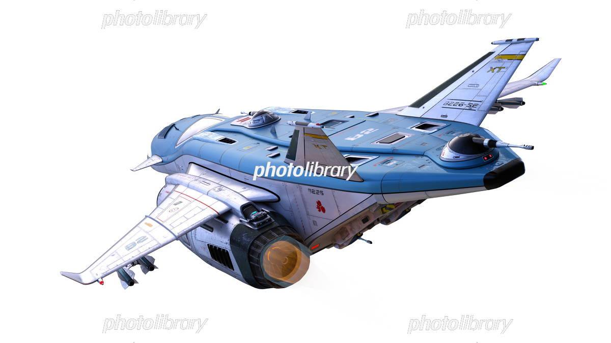 宇宙船 イラスト素材 5868501 フォトライブラリー Photolibrary