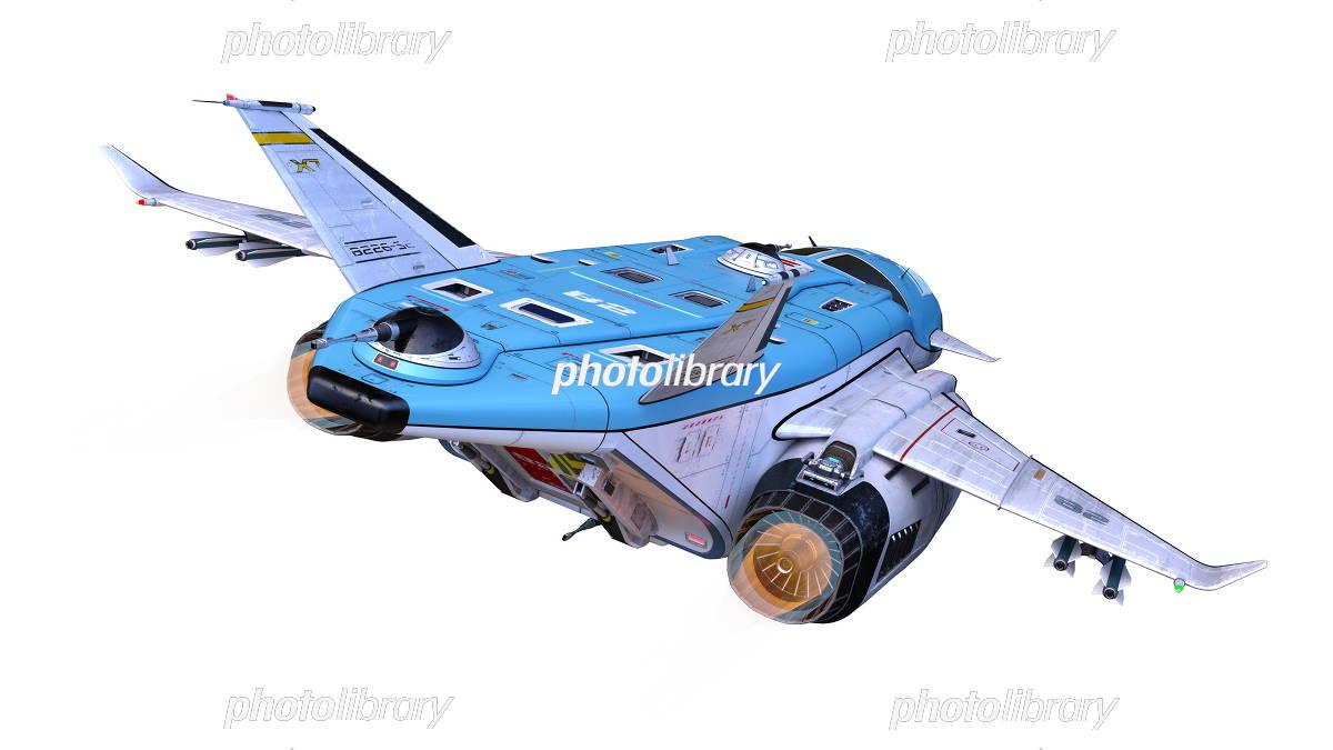 宇宙船 イラスト素材 5868505 フォトライブラリー Photolibrary