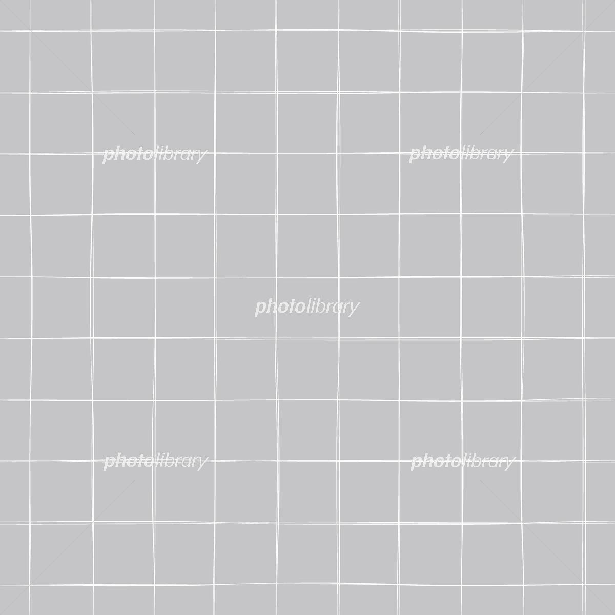 フリーハンドで書いたチェック柄の背景素材 イラスト素材 フォトライブラリー Photolibrary