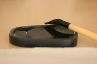 Inkstone and brush Stock photo [260311] Pen