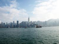 香港島 素材写真
