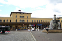 Augsburg Central Station Stock photo [480613] Europe