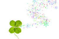 Four-leaf clover Stock photo [528775] Shine