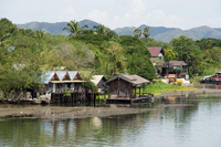Landscape of the River Kwai Stock photo [562151] Asia