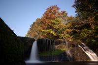 Waterfalls and fall foliage Stock photo [631837] Waterfall