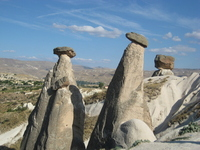 Cappadocia mushroom rock Stock photo [635035] Turkey