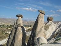 Cappadocia mushroom rock Stock photo [635035] Turkey