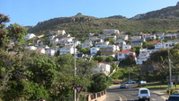 Cityscape of Simons Town of South Africa near Boulder's Beach Stock photo [717949] South