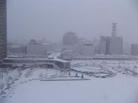 Yamagata Station in snowstorm Stock photo [720985] Yamagata