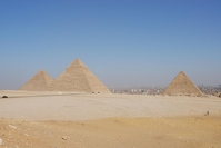 Egypt World Heritage Giza 3 Great Pyramid Stock photo [724048] Egypt