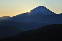Fuji sunrise Stock photo [724982] Mt.