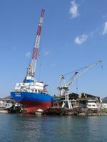 Shipyard Uwajima Stock photo [730020] Shikoku
