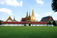 Temple of the Emerald Buddha Wat Phra Kaew Stock photo [730813] Emerald
