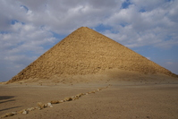 Dahshur red pyramid Stock photo [733968] Sneferu