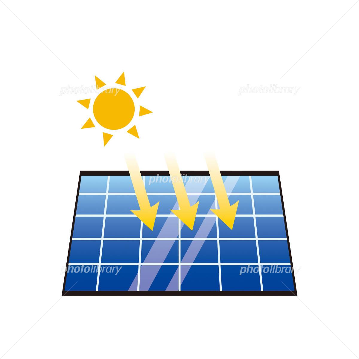 ソーラーパネルのイラスト イラスト素材 958432 フォトライブ
