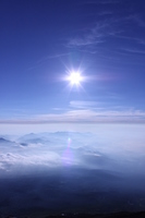 Sea of clouds and blue sky Stock photo [957527] Clouds