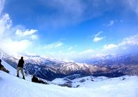 Skiing Stock photo [958585] Summit