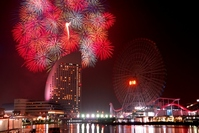 Kanagawa newspaper fireworks Stock photo [962999] Summer