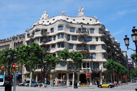 Casa Mila Stock photo [963461] Spain
