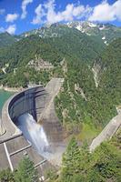 Kurobe Dam and Tateyama Stock photo [963813] Kurobe