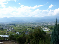 The view from the hill of grapes Stock photo [968442] Koshu
