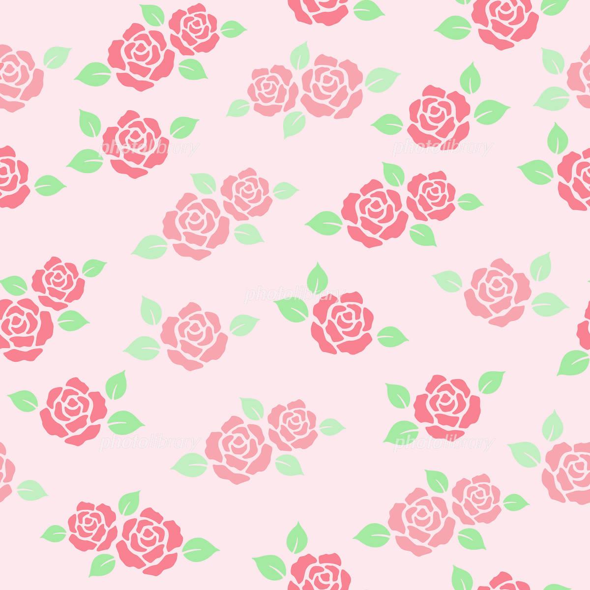 バラ背景 ピンク イラスト素材 [ 1074616 ] - フォトライブラリー