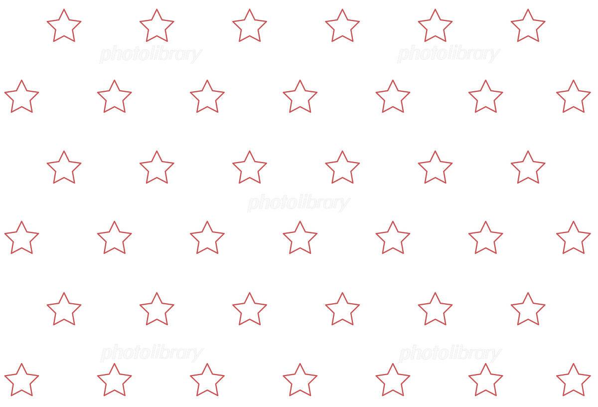 星柄 ホワイトとピンク イラスト素材 1077468 フォトライブ