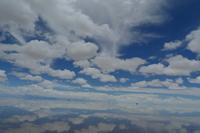 World Uyuni salt lake of mirror Stock photo [1074531] Uyuni