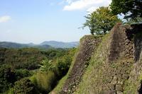 Takeda Castle of Ishigaki Stock photo [1076876] Oita