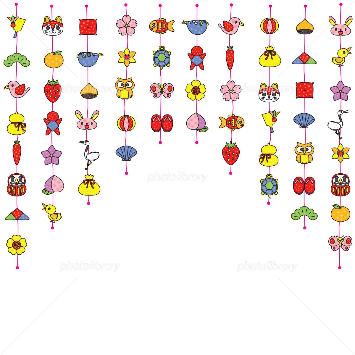 吊るし雛飾り イラスト素材 1178687 フォトライブラリー