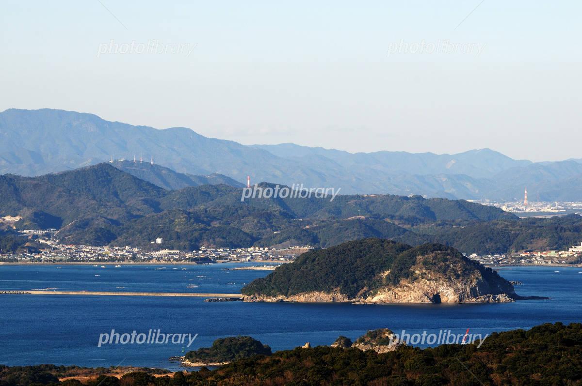宮崎県門川町の乙島 写真素材 [ 1184791 ] - フォトライブラリー ...