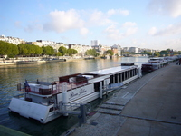 France Seine river bank of ship Stock photo [1179261] France