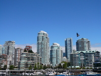 Vancouver skyline Stock photo [1180060] Kanata