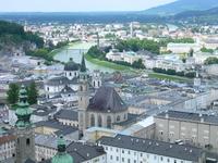 Streets of Austria Salzburg Stock photo [1181202] Austria