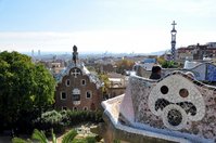 Barcelona Guell Park Stock photo [1184130] World