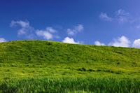 Grassland and blue sky Stock photo [1187721] Prairie