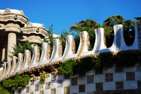 Guell park in Spain Stock photo [1187964] Spain