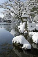 Kenrokuen of snow Stock photo [1188201] Kenrokuen