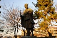松尾芭蕉銅像
