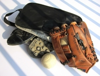 Baseball equipment Stock photo [1190733] Baseball