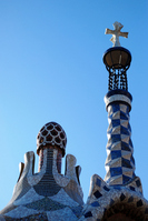 Guell park in Spain Stock photo [1191913] Spain
