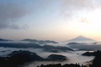 Fuji and sea of clouds Stock photo [1192035] Mt.