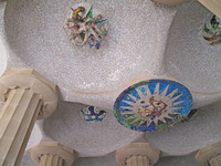 Barcelona Guell Park Stock photo [1192288] Spain
