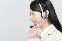 Operator Stock photo [1194727] Smiling
