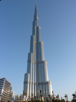 Burj Khalifa Stock photo [1280394] Dubai