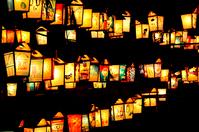 Stone lanterns Stock photo [1280526] Stone