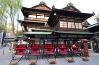 Rickshaw of Dogo Onsen Stock photo [1284379] Shikoku