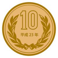 10 yen coins [1288897] 10円