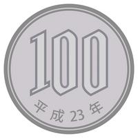 100 yen coins [1288900] 促