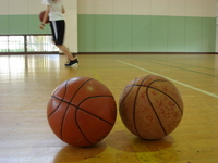 Basketball balls Stock photo [1289332] Basket